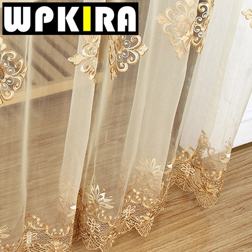 Online Buy Wholesale Gold Sheer Curtains From China Gold
