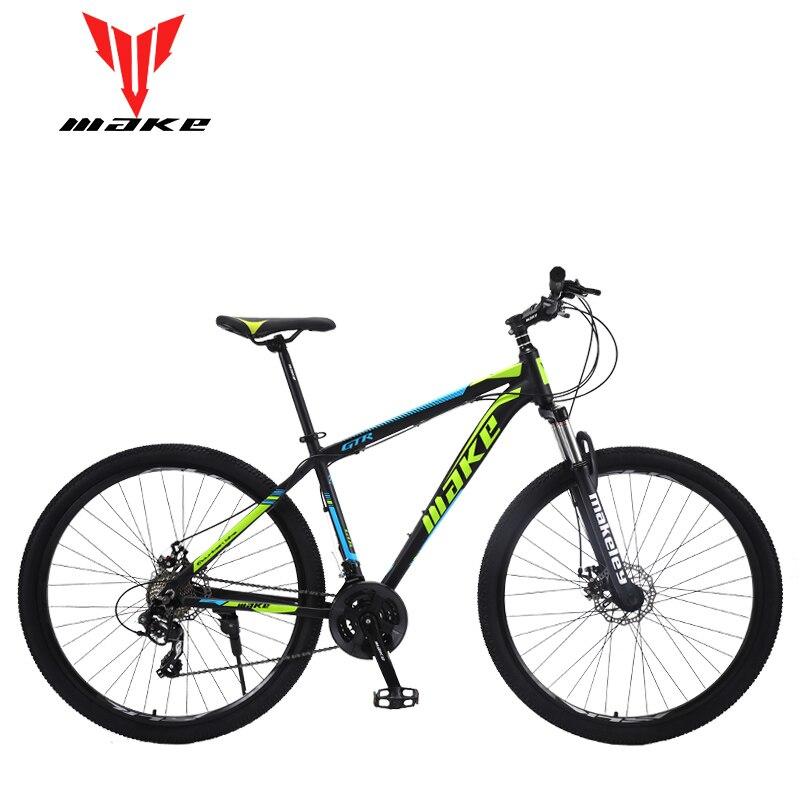 Mountain Bike MAKE 26/27.5/29 24 Speed Disc Brakes Aluminium Frame