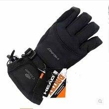 Снегоход сноуборда лыжные езда ветрозащитный снег зимние мотоцикл перчатки бренд мужской