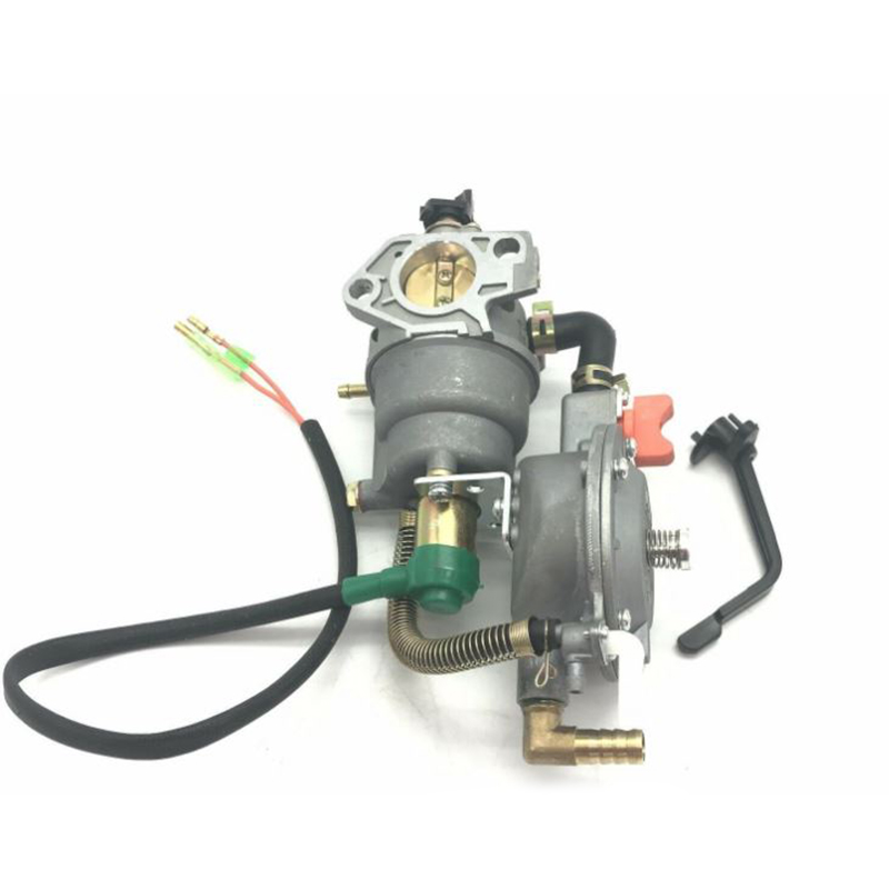Dual Fuel Generator Carburetor For Honda GX390 188F 5KW AUT Choke LPG NG Petrol High Quality Carburetor