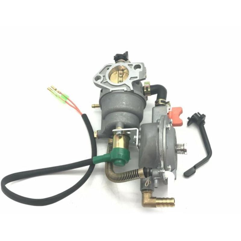 Dual Fuel Generator Carburetor For Honda GX390 188F 5KW AUT Choke LPG NG Petrol High Quality Carburetor