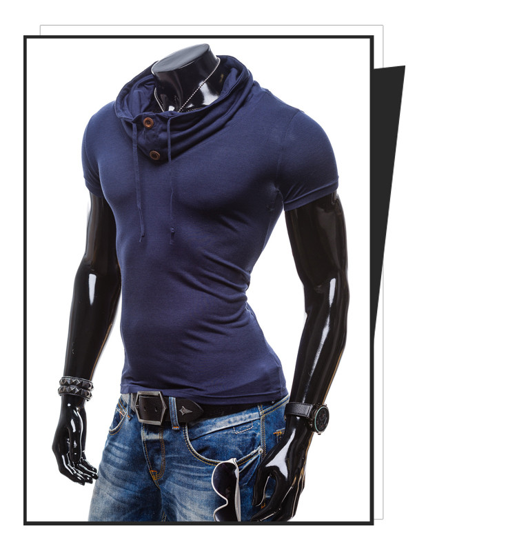 2016 mens breathable solid polo sport men\'s clothing fitness short Sleeve polo shirts casual undershirt 12