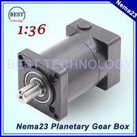 Nema23 Motor Planetary Reduction Gearbox Ratio 1 16 57mm Motor Speed Reducer Usd For Nema 23