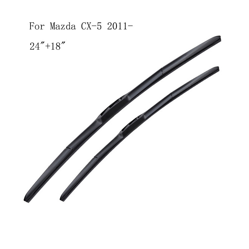 Two Boxes Packing For Mazda CX-5 2011- Factory Wholesale Front Window Windshield Windscreen Wiper Blade image