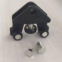 Роликовый Кронштейн для раздвижной двери направляющая и петля/нижняя часть для Vauxhall Vivaro Прямая поставка