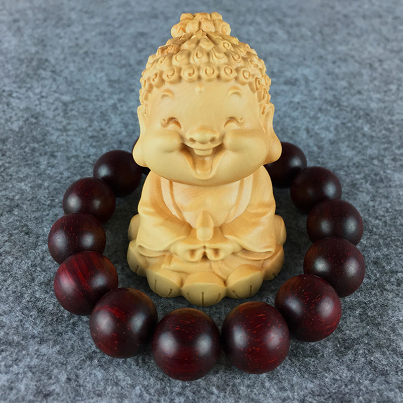 Wholesale boxwood carving wooden buddhist sakya hand pieces the