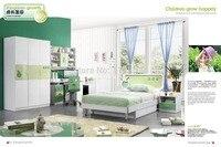 9029 современный дом мебель для детской спальни мебель деревянная кровать шкаф стол стул тумбочка