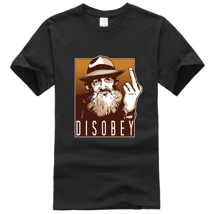 popcorn sutton of disobey tee shirt homme mens dry fit. Black Bedroom Furniture Sets. Home Design Ideas