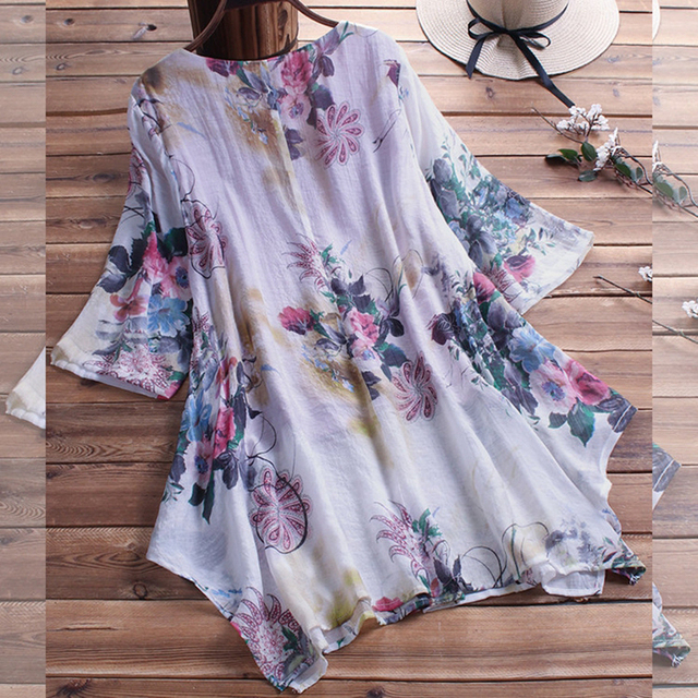 Large Size Women's Shirt Cotton And Linen Plus Size 5XL 6XL 7XL 8XL 9XL Summer V-neck Short-sleeved Loose White Top 5