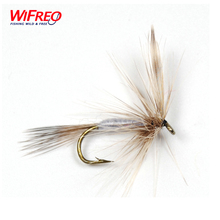 10PCS Wfireo Fly Fishing Trout Fishing Dry Hook May Fly #10