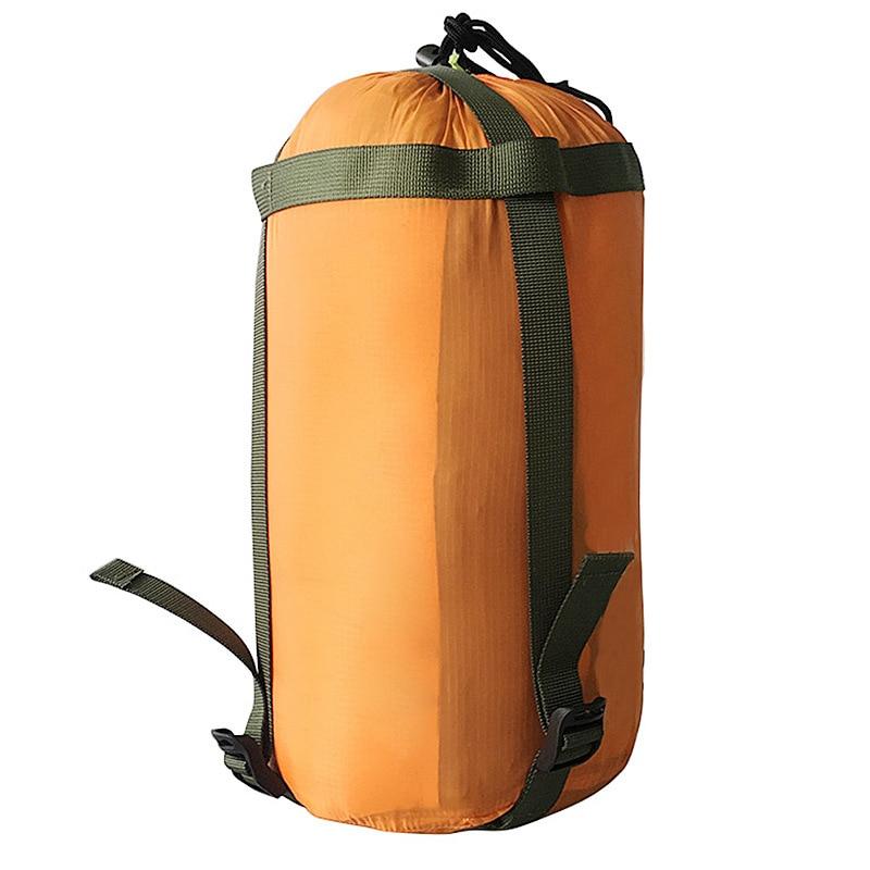 Portable Mesh Stuff Sack Travel Camping Hiking Drawstring Bag Pouch Outdoors Bag
