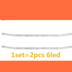 Image 1 - LED blaklight قطاع 6 مصباح ل اغرى JS D JP3220 061EC E32F2000 MCPCB AKTV3222 نوفا ST3151A05 8 V320BJ7 PE1 AKTV3212 AKTV3216