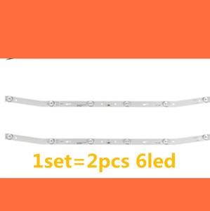 Image 1 - LED blaklight strip 6 lamp For AKAI JS D JP3220 061EC E32F2000 MCPCB AKTV3222 NUOVA ST3151A05 8 V320BJ7 PE1 AKTV3212 AKTV3216