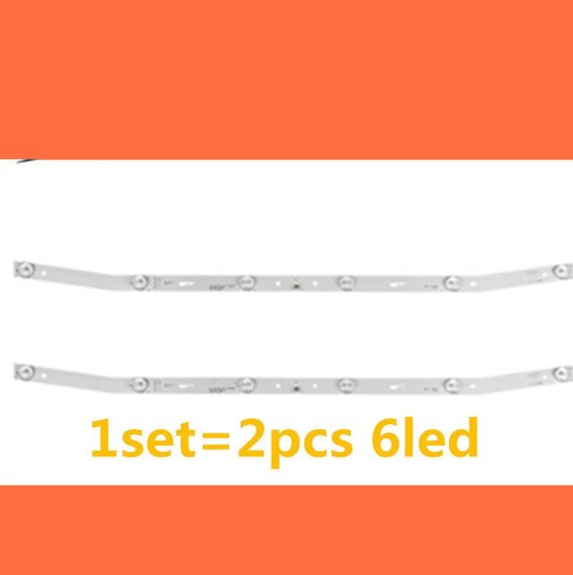 LED blaklight strip 6 lamp For AKAI JS D JP3220 061EC E32F2000 MCPCB AKTV3222 NUOVA ST3151A05 8 V320BJ7 PE1 AKTV3212 AKTV3216