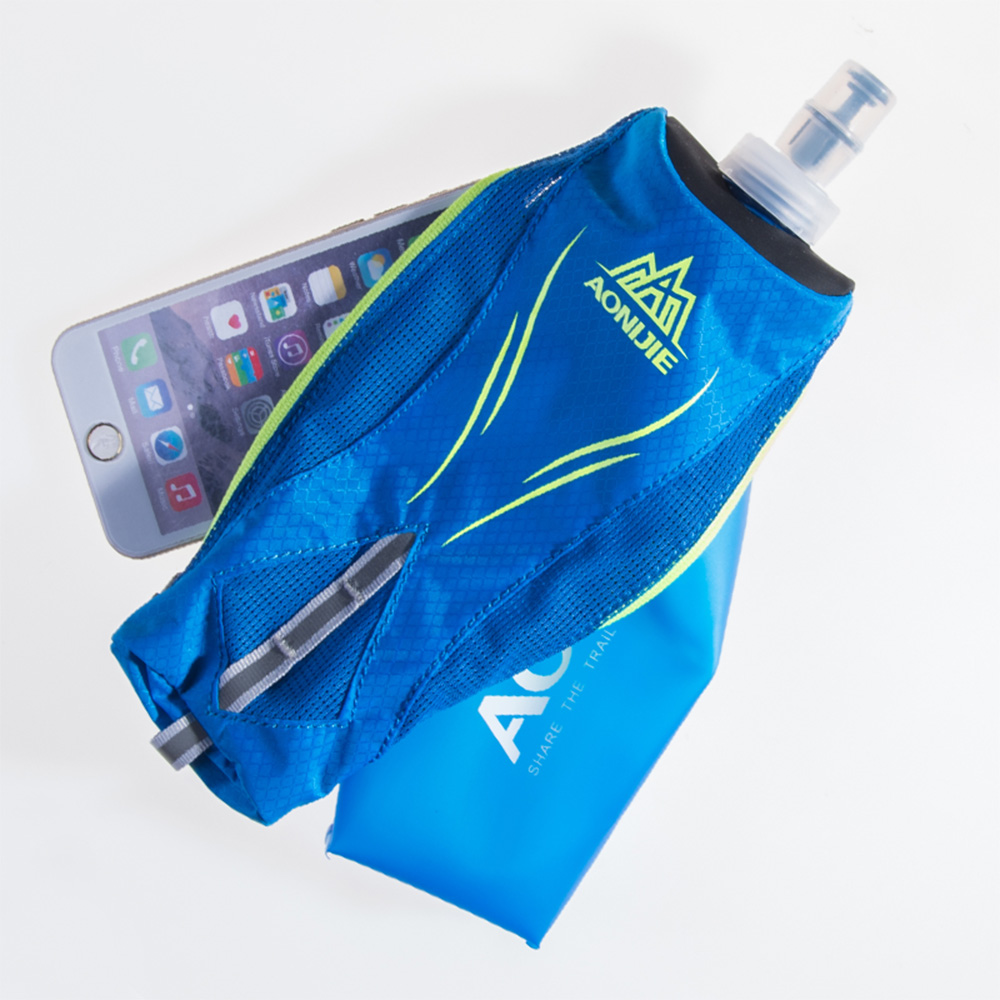 Buy Aonijie E908 Running Hand Held Water Bottle Soft Flask Sd09 250ml Kettle Holder Wrist Storage Bag Hydration Pack Hydra Fuel Marathon Race From