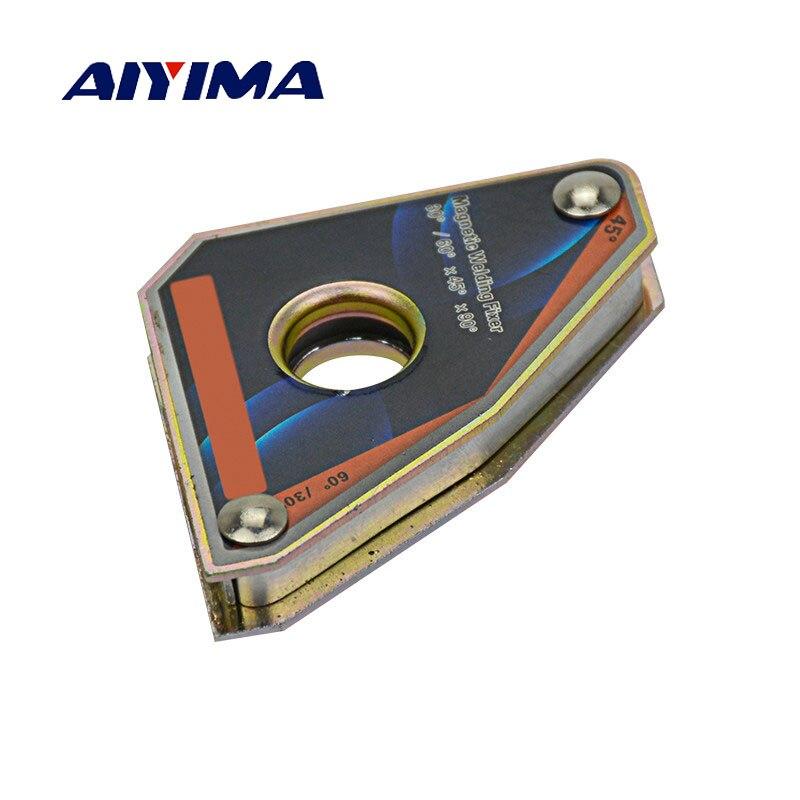 Aiyima1Pc CLA-30 Kraft 5KGS Multi-winkel Mini Schweißen Magneten Neodym Clamp Halter Nie Entmagnetisierung Hebe Schweißen Stellungs