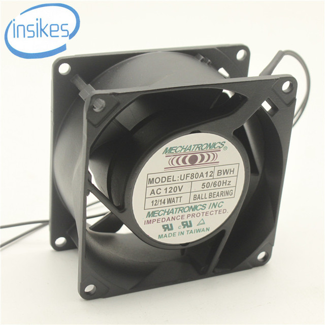 Uf80a12 Ab Soft Start Cabinet Cooling Fan Ac 120v 14w 8038 8cm 80