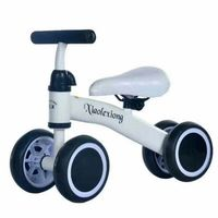 Children's Four Wheeled Balance Car Baby Scooter Infant Toddler Walker Without Pedal Toys for Children Girls