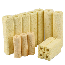 Super Bio Porous Filter Medium Biological Bacteria Buidling House,Aquarium Accessories Fish Tank Rod to Clean Clear water