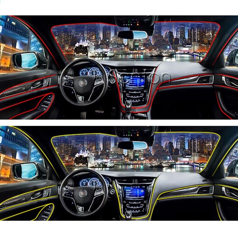 car interior atmosphere lights styling for mitsubishi asx lancer 10 9 outlander pajero for. Black Bedroom Furniture Sets. Home Design Ideas