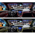 Estilo Atmósfera Luces Interiores del coche Para Mitsubishi Pajero Outlander ASX Lancer 10 9 Para Suzuki Swift Grand Vitara SX4 Vitara