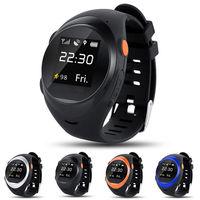 Анти потерянный Для детей пожилых Smart gps WI FI позиционирования часы старший монитор отслеживания трекер Smart часы Finder IOS Android