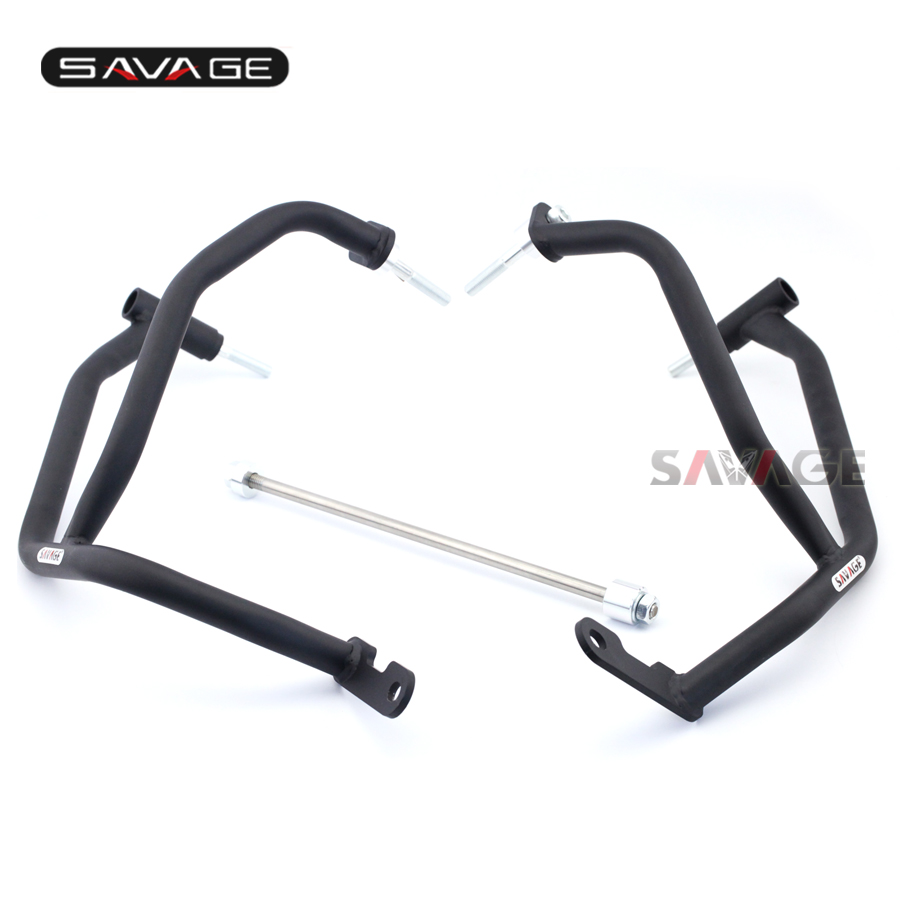 Frame Engine Crankcase Crash Bar Protector Guard For YAMAHA FZ-09 MT-09 MT09 Tracer FJ-09 XSR 900 Motorcycle Accessories fite for yamaha mt 09 fz 09 fj 09 mt09 tracer 2015 2016 motorcycle navigation frame mobile phone holder with usb charger
