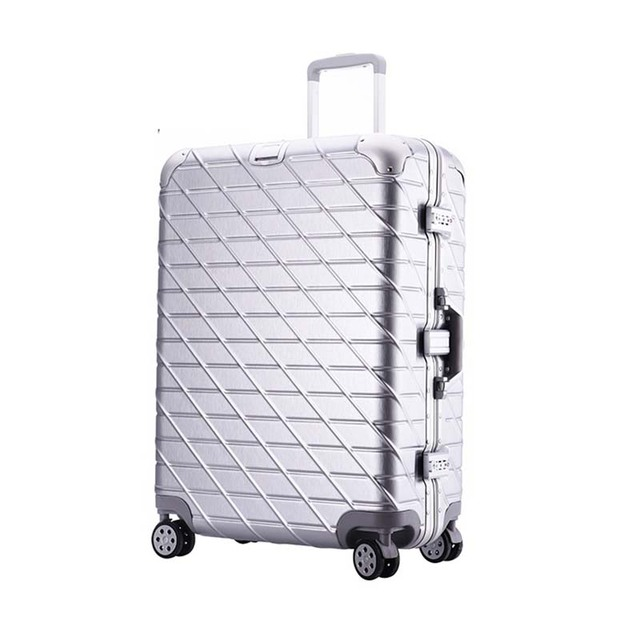9738a98525dc BeaSumore Aluminium Frame Rolling Luggage Spinner Rose Gold Trolley 29 inch  High capacity Suitcases Wheels 20 inch Travel Bags