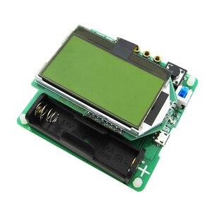 Image 2 - 2017 новейшая версия индукторного конденсатора ESR измеритель DIY MG328 Многофункциональный тестер
