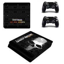 Tom Clancy Vinyl Decal for PS4 Slim Console Cover for Playstaion 4 Controller PS4 Slim Skin Sticker