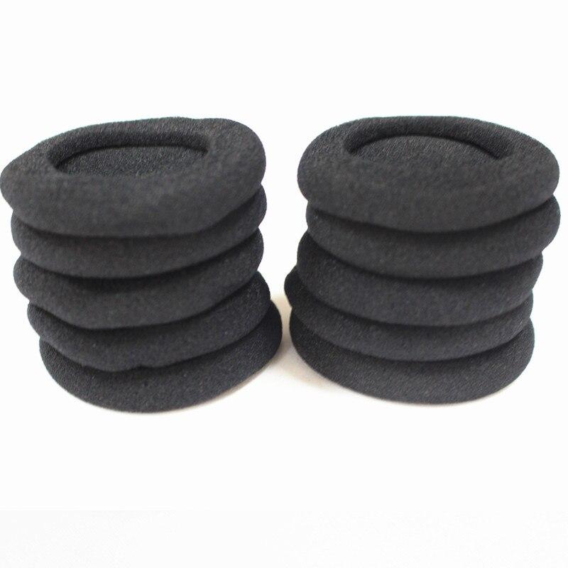 Linhuipad 60mm Headset Foam Ear Cushions headphone sponge Earpads 10pcs / lot