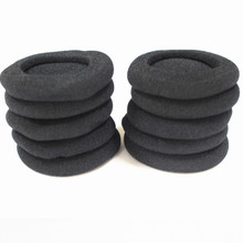 60mm Headset Foam Ear Cushions headphone Earpads 10pcs / lot  Free Shipping By Singapore Post singapore
