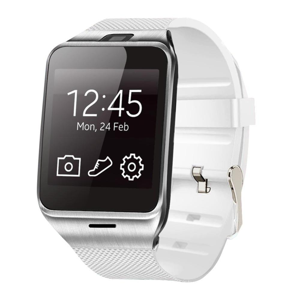 imágenes para Smartch Envío Libre 1.3MP Cam GV18 Reloj Inteligente Bluetooth SmartWatch Sincronización de Llamadas SMS para Samsung XiaoMi HTC Android