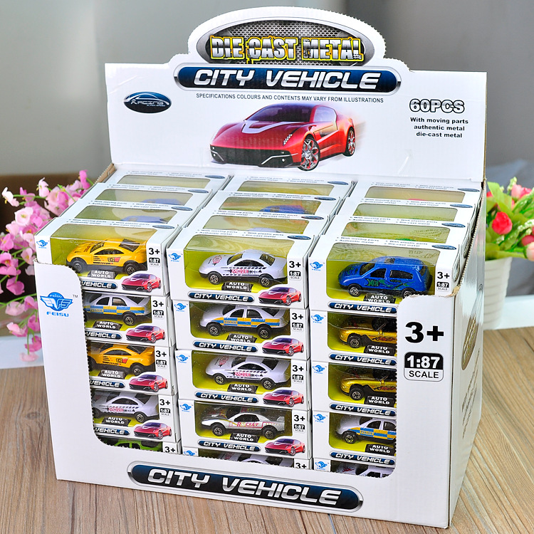 Children's Toys New Alloy Car Model American Sports Car Series Model Toys 1 Random Delivery