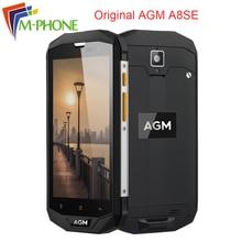 Оригинал AGM A8SE IP68 5.0 дюймов Водонепроницаемый мобильного телефона Qualcom Snapdragon 2 г Оперативная память 16 г Встроенная память 4050 мАч 13MP OTG 4 г телефона