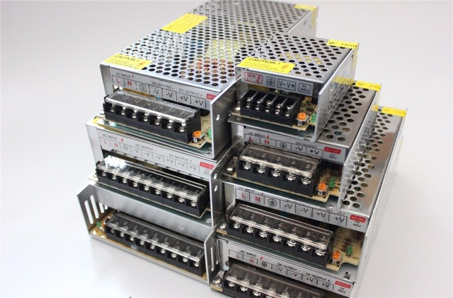 D100 DC12V 1.25A 2A 5A 10A 15A 20A 30A переключатель Питание адаптер трансформатора AC110V-240V к DC12V адаптер для светодио дный полосы света