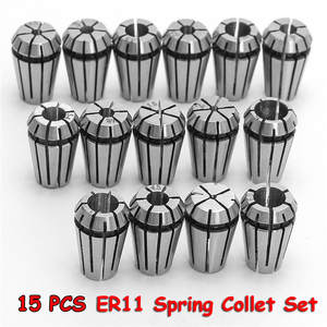 ER11 Spring-Collet-Set Lathe-Tool Milling-Chuck Engraving-Machine Chuck--1 15pcs/Set