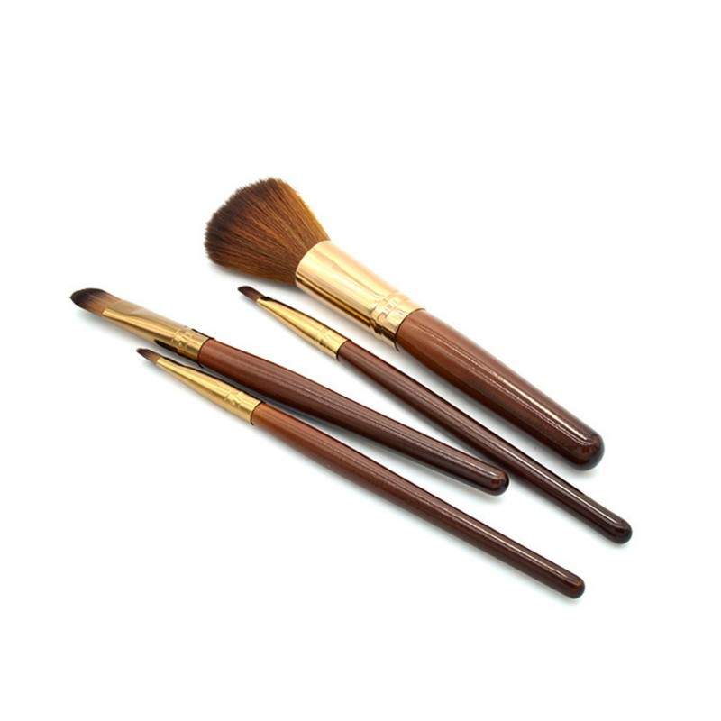4st 4st Eye Shadow Makeup Brush Set Blanda Kosmetiska Borstar Concealer Make Up Tools