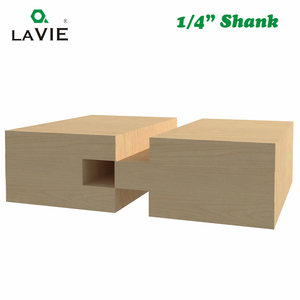 Image 5 - LA VIE 2pcs 8MM Shank T חריץ כיכר שן שגם כרסום קאטר גילוף סכין נתב Bits עבור עץ כלי נגרות MC02140
