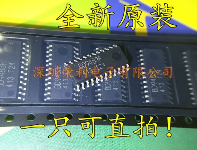 2pcs/lot BD9483F BD9483 SOP 24 In Stock-in Integrated Circuits from Electronic Components & Supplies
