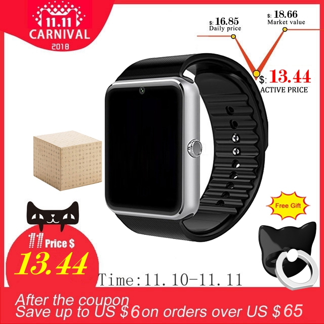 Smart Watch GT08 Clock Support TF Card And Sim Card Wearable Bluetooth Watch for Android Phone Smartwatch Watch GT08 VS DZ09 U8 цены онлайн
