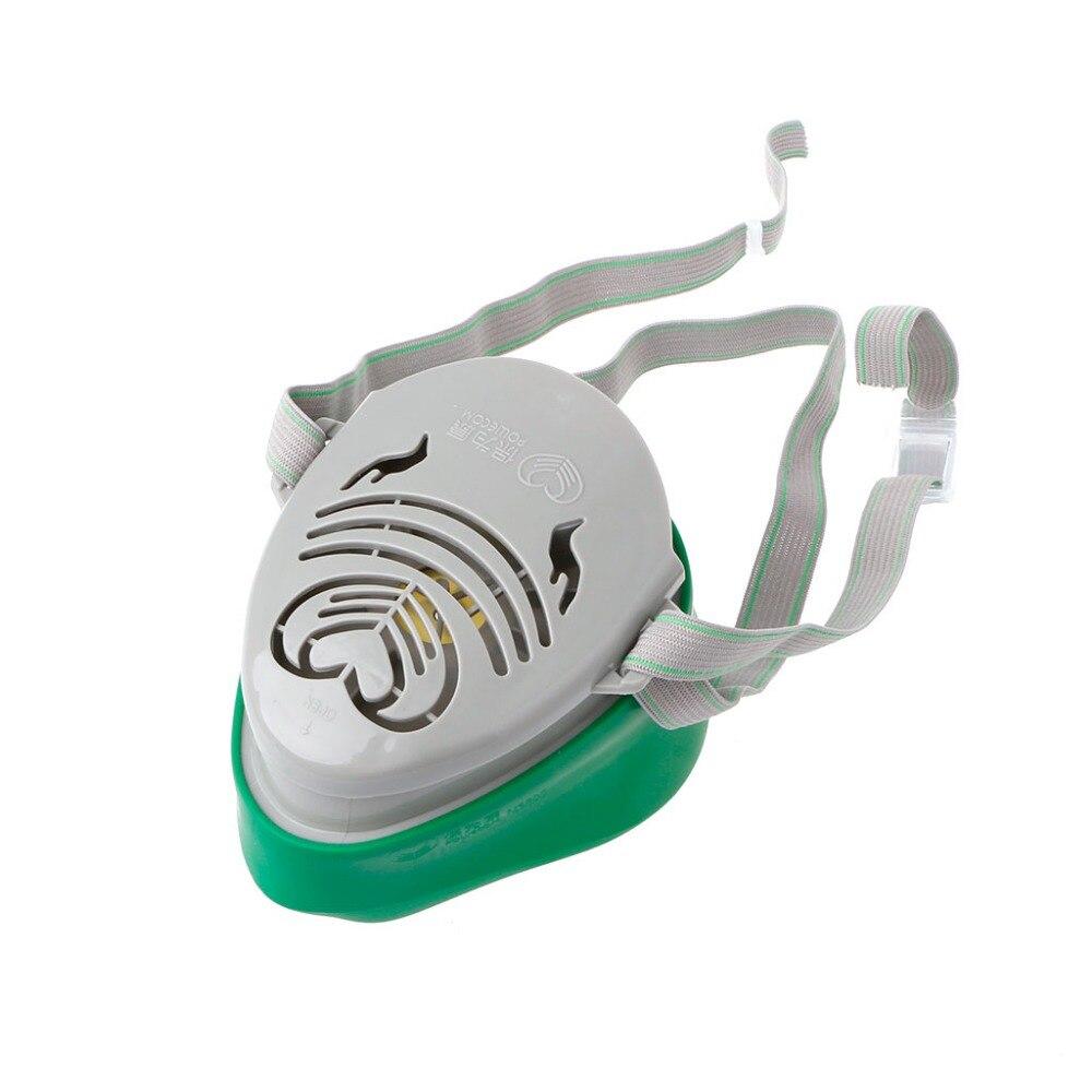 ZLROWR N3800 Anti-Poussière Masque Filtre Pulvérisation De Peinture Cartouche Respirateur Masque À Gaz