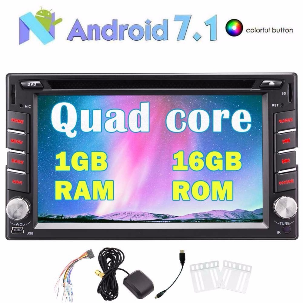 Eincar Android 7.1 Stereo-2 Din <font><b>Bluetooth</b></font> DVD CD Player GPS Navigation Radio Support USB/SD 4G WIFI OBD2 Backup Camera <font><b>Bluetooth</b></font>