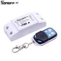 Itead Sonoff WiFi Smart Switch 433MHz RF Receiver Wireless Remote Controller DIY Home Automation Relay Module Timer for Alexa