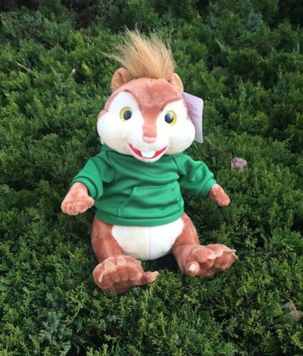Alvin and the Chipmunks green Theodore plush toy birth christmas gift 9