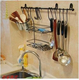 Fashion iron kitchen rack glove storage spice wall sooktops finishing frame shelf - Online Store 235555 store