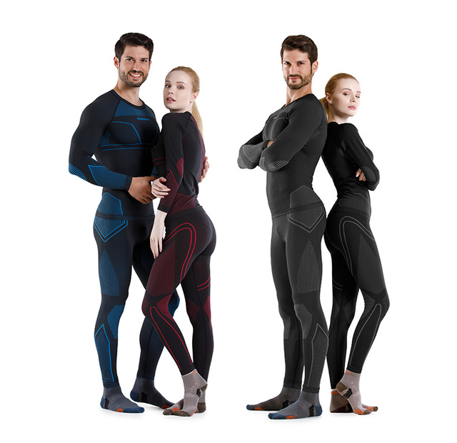 Men and Women Thermal Underwear Sets 4