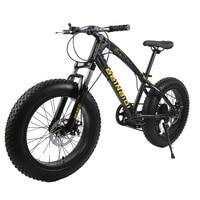 7 21 27 Speed 20 26 Inch Fat Bike Snow Bike 4 0Width Wheel High Ten