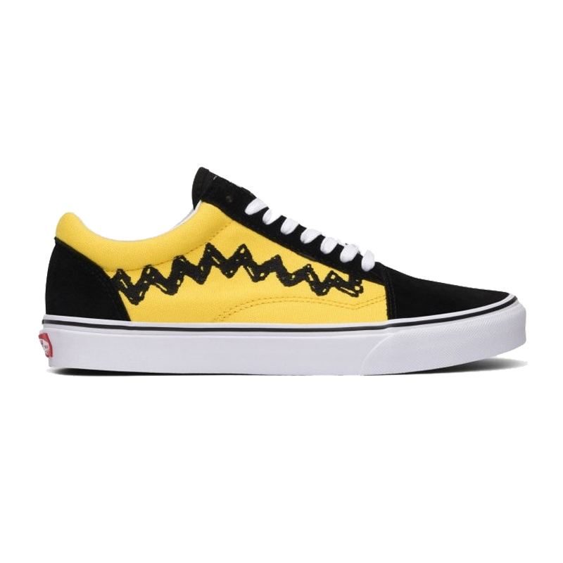 Original VANS X PEANUTS male shoes   Women s Classic Old Skool Low top  Skateboarding Shoes light Sneakers Canvas VN0A38G1OHJ-in Skateboarding from  Sports ... 4a3e35db58f9