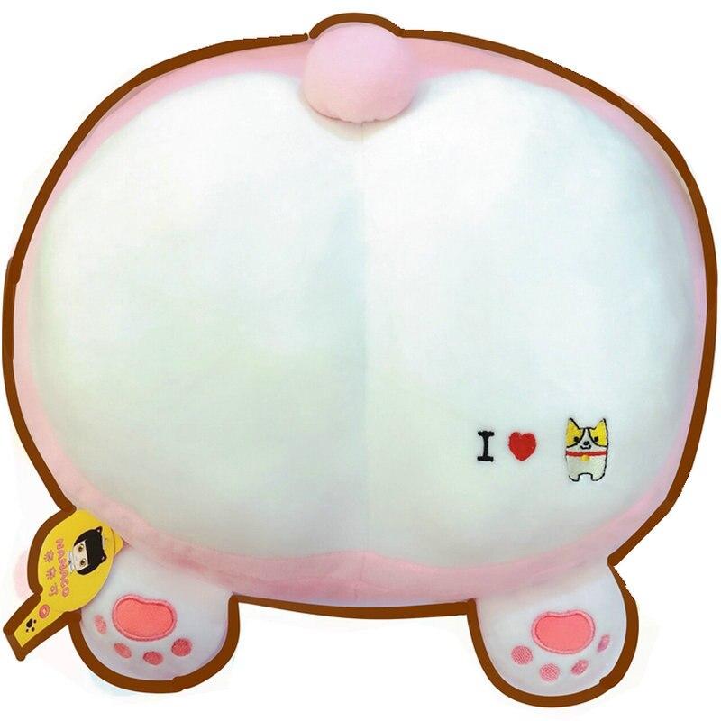 Welp Winter warm Super zachte pluche Anime cartoon Corgi Ass Hond Stoel CF-89